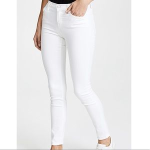 J Brand Skinny Leg Blanc, Size 24